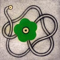 Blomsterkraft: Grønn blomst